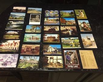 26 Vintage Postcards