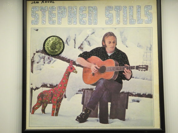 Glittered Record Album - Steven Stills