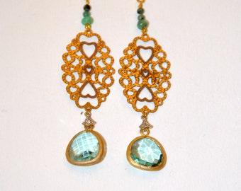 Vintage Vermeil earrings
