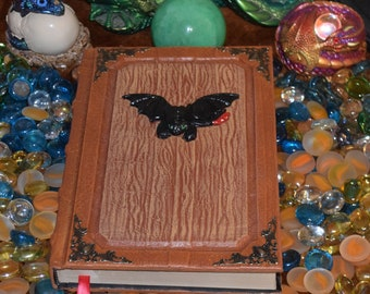 Nightfury Night Fury Toothless How to Train Your Dragon tome grimoire Wicca Magic Spellbook Larp Cosplay