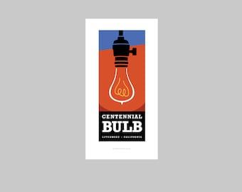 Centennial Bulb print