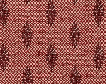 Decorative Pillow Boca Medallion Garnet Red