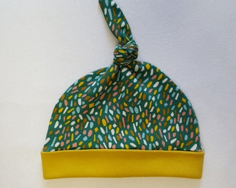 0-3 months Knotted Hat (Organic Cotton)