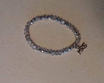 MRS crystal stretch bracelet