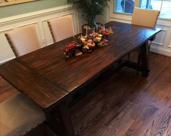 Exceptionnel Farmhouse Dining Table, Truss Dining Table, Rustic Dining Table, Rustic  Table, Farmhouse Table