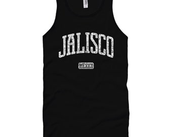 Jalisco Mexico Tank Top - Unisex - XS S M L XL 2x - Jalisco Shirt - Men and Women - Mexican, Guadalajara, Puerto Vallarta - 4 Colors