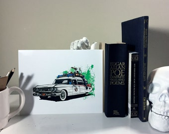Ghostbusters Ecto1 Print