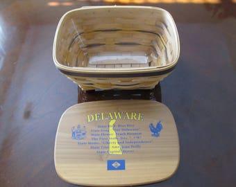 Sale Priced  Delaware History Basket