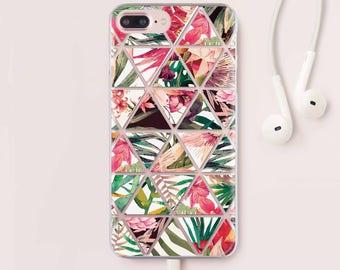 Flowers iPhone 7 Case Samsung S8 Plus Floral iPhone X Case iPhone 6 Plus Case For Samsung Galaxy S7 Case iPhone 8 Plus Case iPhone 6 CC1274
