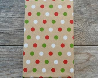 Polka Dot Kraft Wrapping Paper, 2 Feet x 10 Feet
