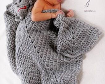Tinman toy lovie blankie afghan crochet pattern pdf580