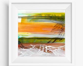Square Abstract Printable, Digital Print, Abstract Printable Art, Abstract Art Print, Abstract Landscape, Boho Decor - Meditation Series