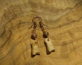Deer Toe Bone Earrings