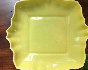 Vintage Los Angeles pottery dish
