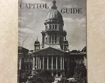 Capital Guide Issued by Charles F. Carpenter Secretary of State Illinois Revised Edition 1954