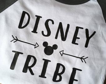 Disney Tribe Raglan / Baseball Tee