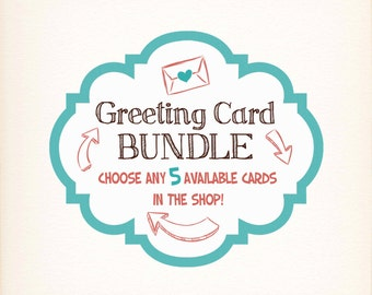 SALE- Greeting Card Bundle Pack