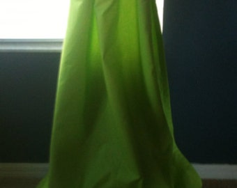 """Chartreuse 40"""" x 108"""" Grommet Drapes - lined - ready to ship"""