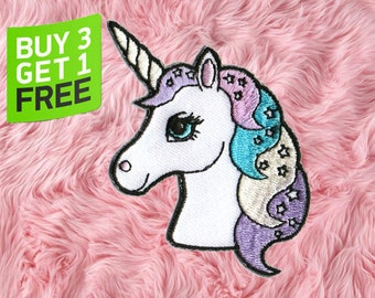 Unicorn Patch Iron On Embroidered Patches Iron On