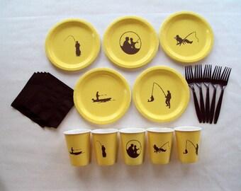 Fishing Tableware Set for 5 People