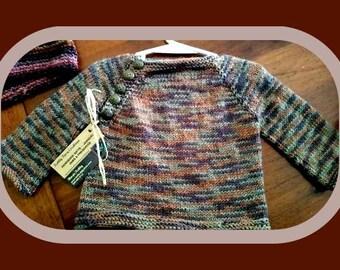 Camo Childs Sweater