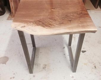 Custom Live Edge Side Table - Side Table - Live Edge End Table - End Table - Nest Table - Custom Live Edge Furniture