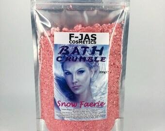 Snow Fairy (Faerie) Bath Crumble / Fairy Dust 200g