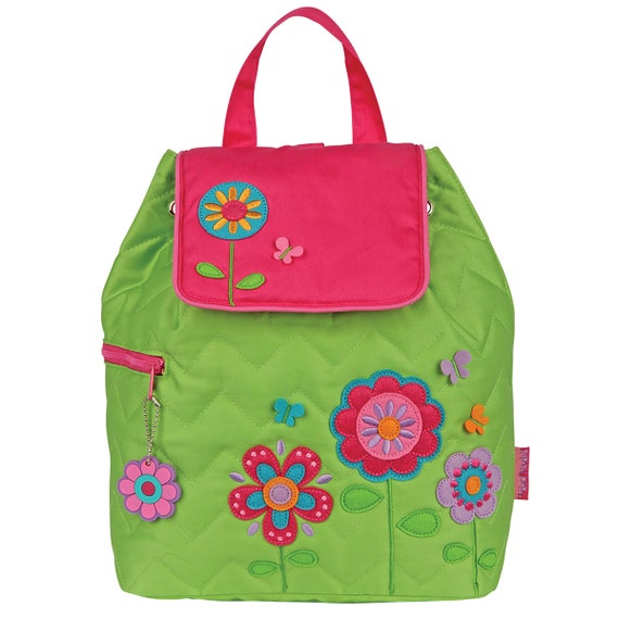 Stephen Joseph Quilted Flower Backpack