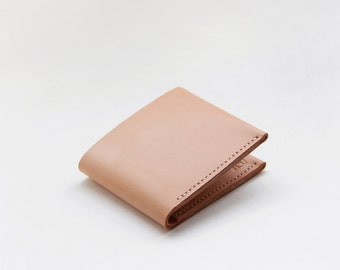Transient - Vegetable tanned Leather Wallet FREE SHIPPING