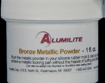 Alumilite Metallic Powder 1 FL OZ Bronze
