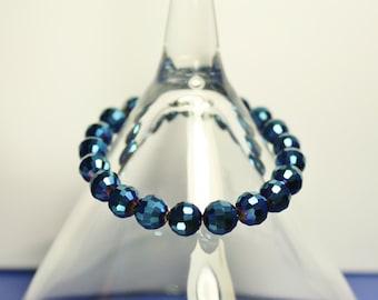 Beautiful Dark Blue Bracelet