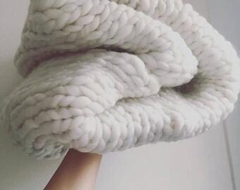 Super Duper Chunky Blanket