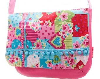 messenger bag for school girls: spring