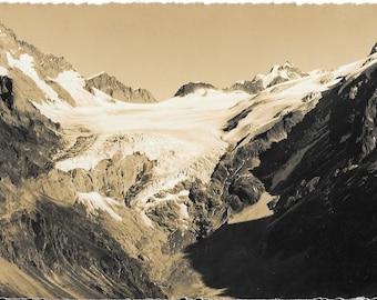 Gasterntal. Kanderforn,  Switzerland, Vintage 1930s Unused Real Photo Postcard