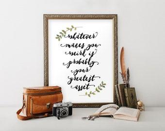 Inspirational, Inspirational art, Inspirational teen decor, Dorm decor, Teen boy gift, Motivational quotes, Wall quote print, BD-270