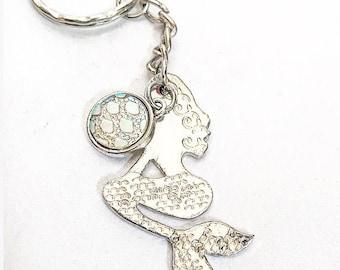 MERMAID, Keyring, Mermaid Lover, Gift,Valentines Day, Mothers Day