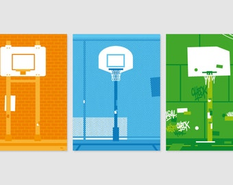 Print - Offre spéciale 3 Posters - Playground - No1, No2 et No3