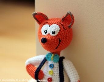 Crochet Fox Pattern Amigurumi: Vasilik, Amigurmi