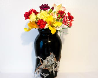 Exploding Vase | Dynamite Vase | Handmade Vase | Centrepiece | Decorative Vase | Ceramic Vase | Functional Art | Home Decor Interior Design