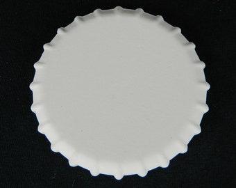 "48 Pack. Blank BOTTLE CAP Magnets - 3"" in Diameter Decoration Ceramic Stone"