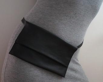 Fanny Pack, Leather Fanny Pack, Waist Bag, Belt Bag, Hip Bag, Bum Bag, Festival Fanny Pack, Custom Fanny Pack, Leather Waist Bag, Modern