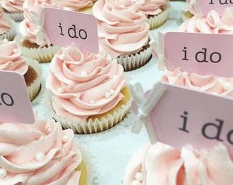 I DO cupcake picks