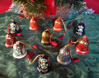 Bell Christmas Ornaments