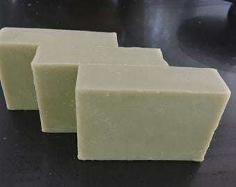 Organic French Green Clay Goat's Milk Soap