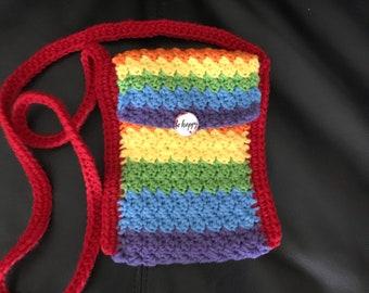 LGBT+ friendly cellphone small crossbody purse