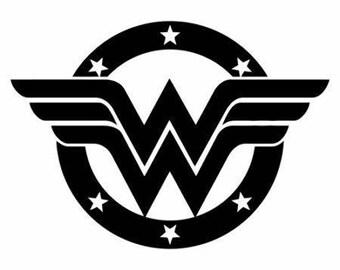 6 inch Wonder woman car/truck window Vinyl Decal bumper sticker