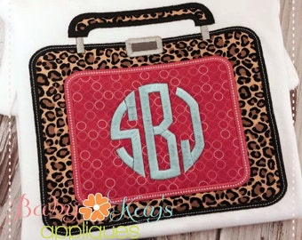 Lunchbox Applique Design 4x4, 5x7, 6x10, 8x8