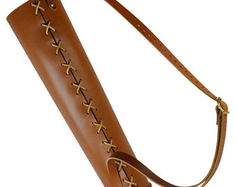 Simple Archer's Quiver - Traditional and Fantasy Archery Quiver - #DK3104