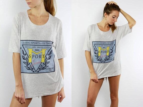 90s T Shirt / 90s Oversize T Shirt / 90s Tee / Boyfriend Tee / Vintage T Shirt / Oversize T Shirt / Oversize Tee / 90s Streetstyle