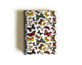Butterflies Notebook - A6 Spiral Bound